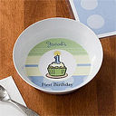 Personalized Baby Bowl for Boys - First Birthday