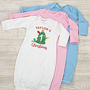 First Christmas Personalized Baby Gown