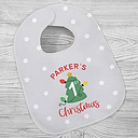 First Christmas Personalized Baby Bib