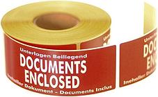 Documents Enclosed Labels - 500 Labels