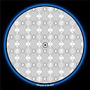 GLOWTRONICS DENON 3700 SLIPMATS G PATTERN