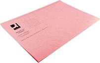 Square Cut Folder 180gsm Foolscap, Pink