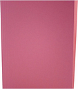 Square Cut Folders Foolscap Pack of 100, Pink