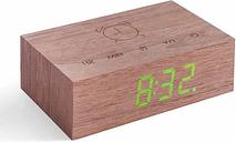 Gingko Flip Click Clock, Cherry
