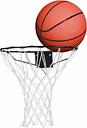 Charles Bentley Basketball Hoop Set with FREE Ball