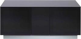 Alphason Element Modular XL 1250 TV Cabinet, Black