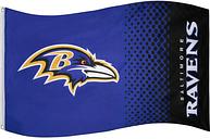 Baltimore Ravens NFL Bandiera Fade Flag FLG53NFLFADEBRV