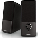 Bose Companion 2 Series III 354495-1100 Speaker System for PC - Wired - 2 Speakers - Black