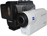 Sony FDR-X3000/W 8.2 Megapixels Under Water 4K Action Camera - f17 mm Lens - White