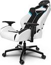 Mobile Edge Alienware VG-S5000_AL Gaming Swivel Chair - Black/White