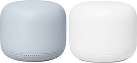 Google Nest GA01426-US Wi-Fi Router and Point - Snow-Mist