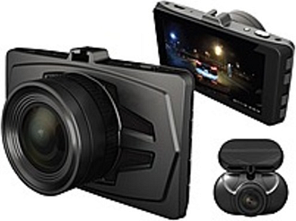 "RSC-DUDUO-E1 Digital Camcorder - 3"" LCD - Exmor CMOS - Full HD - 16:9 - MOV, H.264 - HDMI - USB - microSDHC - Memory Card - Suction Mount, Dashboard M"