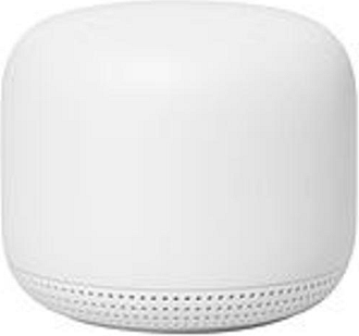 Google GA00823-US Nest IEEE 802.11ac Ethernet Wireless Router - 2.40 GHz ISM Band - 5 GHz UNII Band - 275 MB/s Wireless Speed - 1 x Network Port - 1 x