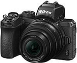 "Nikon 018208016334 Z50 20.9 Megapixel Mirrorless Camera with Lens - 16 mm - 50 mm - 3.2"" Touchscreen LCD - 3.1x Optical Zoom - Digital (IS) - 5568 x 3"