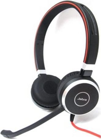 Jabra EVOLVE 40 UC Headset - Stereo - USB Type C - Wired - Over-the-head - Binaural - Supra-aural - Noise Canceling