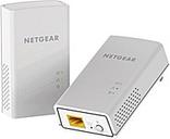 Netgear PL1000 Powerline Network Adapter - 2 - 1 x Network (RJ-45) - 1000 Mbit/s Powerline - 5382 Sq. ft. Area Coverage - HomePlug AV2 - Gigabit Ether