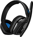 Astro A10 Headset - Stereo - Mini-phone (3.5mm) - Wired - 32 Ohm - 20 Hz - 20 kHz - Over-the-ear, Over-the-head - Binaural - Circumaural - Blue, Gray