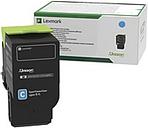 Lexmark Original Toner Cartridge - Cyan - Laser - Standard Yield - 1000 Pages - 1 Each