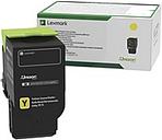 Lexmark Original Toner Cartridge - Yellow - Laser - Standard Yield - 1000 Pages - 1 Each