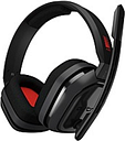 Astro A10 Headset - Stereo - Mini-phone (3.5mm) - Wired - 32 Ohm - 20 Hz - 20 kHz - Over-the-ear, Over-the-head - Binaural - Circumaural - Red, Gray