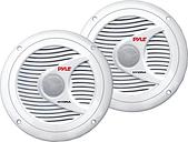 PYLE PLMR60W Hydra Series 6.5 INCH 150-Watt Dual-Cone Marine Speakers (White)