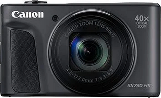 Canon PowerShot SX730 HS Digital Camera - Black